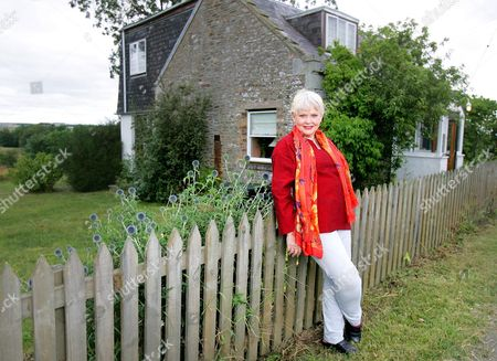 Editorial image of Diane Cilento at her son's house in the Scottish Borders, Scotland, Britain - 11 Aug 2006