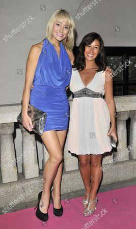 Stock Image of Melissa Walton and Hayley Tamaddon