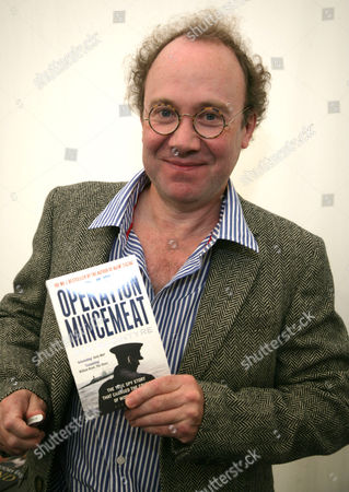 Ben MacIntyre with his book 'Operation Mincemeat'