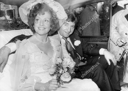 Stock Photo of Len Fairclough (played By Peter Adamson) Weds Rita Fairclough (barbara Mullaney) In A Scene From Television Programme 'coronation Street'.