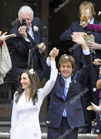 Editorial picture of Wedding of Paul McCartney and Nancy Shevell, London, Britain - 09 Oct 2011