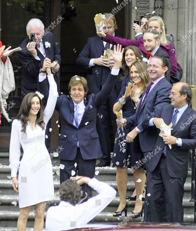 Editorial photo of Wedding of Paul McCartney and Nancy Shevell, London, Britain - 09 Oct 2011