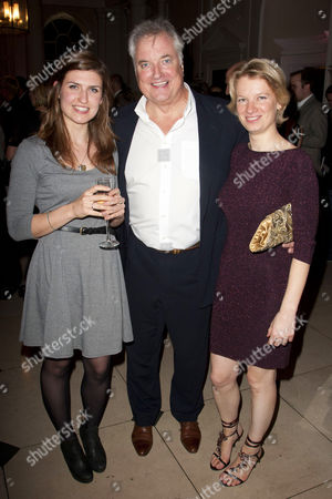 Stock Picture of Louise Beresford, Clive Carter (Lord Bellingham) and Francesca Carter