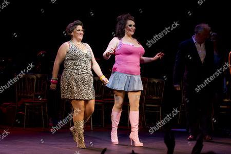Beverly Rudd (Dana) and Suzie Chard (Clodagh)