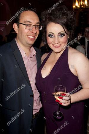 Elliot Davis (Author) and Suzie Chard (Clodagh)