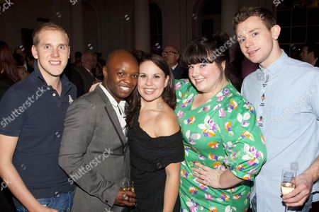 Editorial image of 'Soho Cinders' musical and after party, London, Britain - 09 Oct 2011