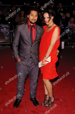 Nathalie Emmanuel and Devon Anderson