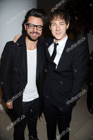 Dominic Cooper and Andrew Knott