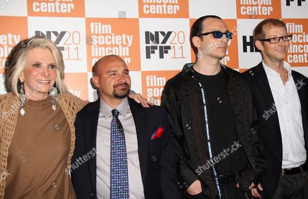 HBO Documentary Films President Sheila Nevins, Jessie Misskelley Jr, Damien Echols, Jason Baldwin