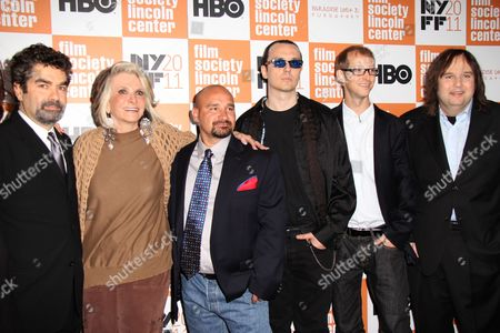 Co-Director Joe Berlinger, HBO Documentary Films President Shelia Nevins, Jessie Misskelley Jr, Damien Echols, Jason Baldwin, Co-Director Bruce Sinofsky