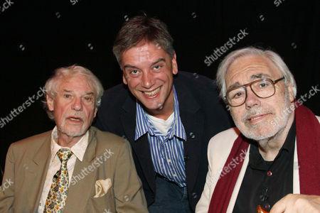 Ray Galton, Christopher Stevens and Alan Simpson