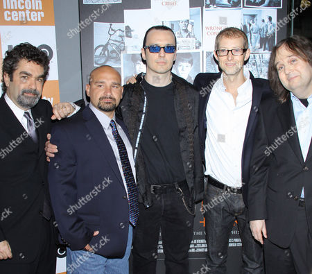 Joe Berlinger, Jessie Misskelley Jr., Damien Echols, Jason Baldwin and Bruce Sinofsky