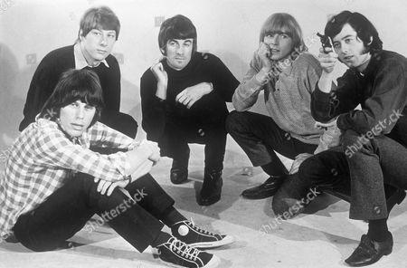 The Yardbirds -  Jeff Beck, Chris Dreja, Jim McCarthy, Keith Relf and Jimmy Page