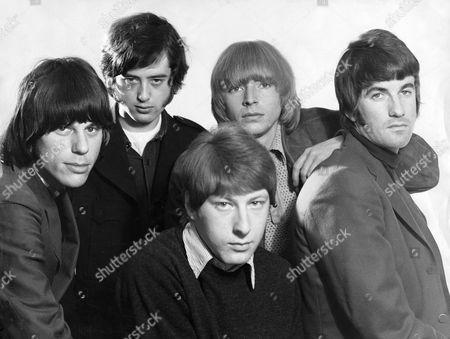 The Yardbirds -   Jeff Beck, Jimmy Page, Chris Dreja, Keith Relf and Jim McCarthy