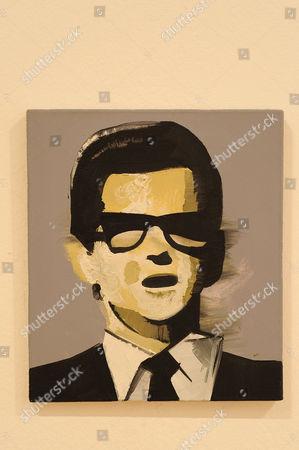 'Roy Orbison 1', 2007, by Wilhelm Sasnal