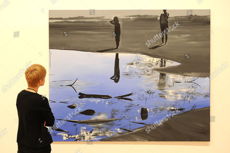 Editorial image of Wilhelm Sasnal exhibition, Whitechapel Gallery, London, Britain - 11 Oct 2011