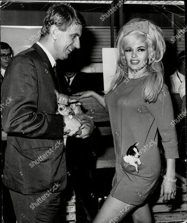 Actress Jayne Mansfield (dead 07/67) And Boyfriend Club Owner Alan Wells