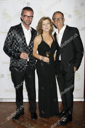 Stock Photo of Gerardo Vidaurre, Julia Lister and Ben De Lisi