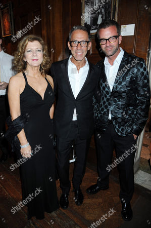 Editorial image of Champagne Perrier-Jouet Bicentennary Party, London, Britain - 11 Oct 2011