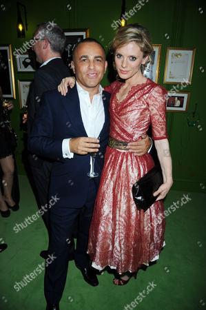 Stock Photo of Lorenzo Agius and Emilia Fox