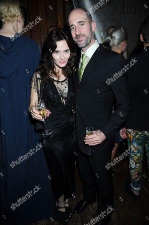 Rebecca Calder  and Ed Reeve