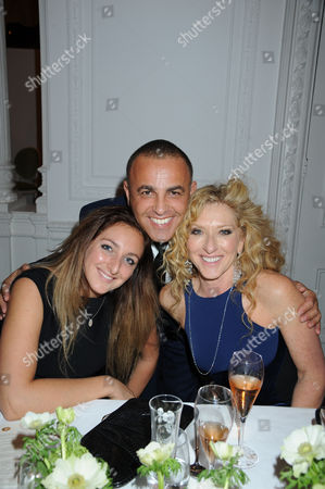 Editorial picture of Champagne Perrier-Jouet Bicentennary Party, London, Britain - 11 Oct 2011