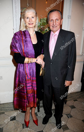Stock Image of Serena Sutcliffe and Dennis Peppercorn
