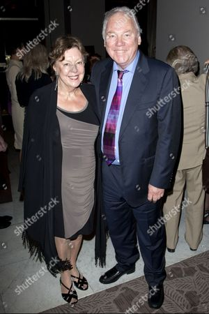 Sylvia Sissons and Peter Sissons