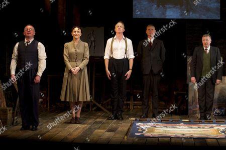Joe Caffrey (George Brown), Joy Huerta Brook (Helen Sutherland), Ian Kelly (Robert Lyon), Trevor Fox (Oliver Kilbourn) and David Whitaker (Jimmy Floyd)
