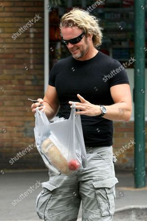 Editorial picture of Craig McLachlan out and about in Sydney, Australia - 11 Oct 2011