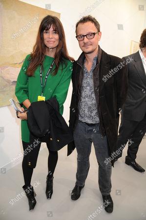 Lisa B and Jonathan Yeo
