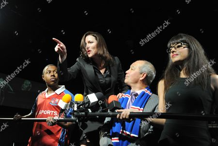 Editorial image of 'Fit and Proper People' at The Soho Theatre, London, Britain - 11 Oct 2011