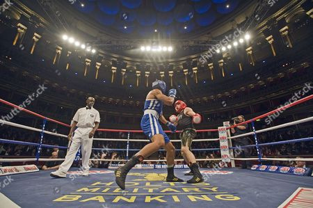 Editorial photo of Armed Forces Cup Boxing at the Royal Albert Hall, London, Britain - 07 Oct 2011