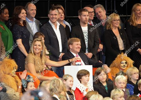 Crown Princess Maxima, Crown Prince Willem-Alexander and Johnny de Mol