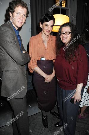 Jake Paltrow, Taryn Simon and Amanda Sharp