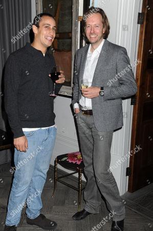 Alex Dellal and guest
