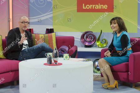 Adee Phelan with Lorraine Kelly