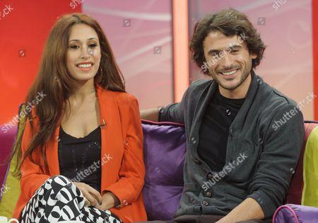 Preeya Kalidas and Marc Elliot