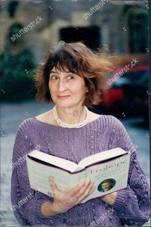 Whitbread Book Of The Year Award Winner Victoria Glendinning For Her Book 'trollope'