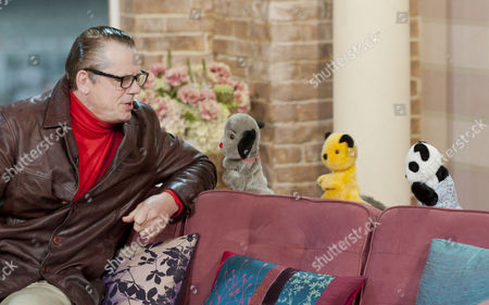 John Shuttleworth with Sweep, Sooty and Soo