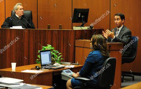 Judge Michael E. Pastor and Dr Nader Kamangar