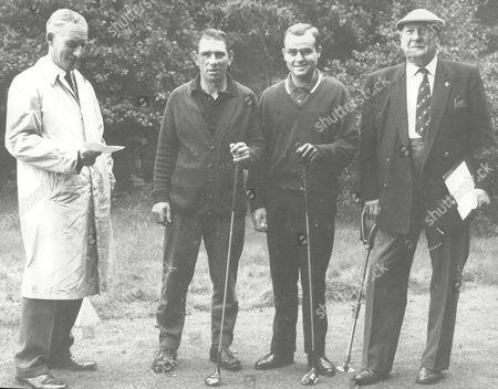 Evening News Golf Tournament L-r Maurice Hart John Whelan Tony Fownes And Col James Fenton