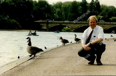 Editorial picture of London Hyde Park Serpentine Park Superintendent Simon Richards In Hyde Park