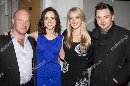 Jason Haigh-Ellery, Sally Humphreys, Emily Head and Craig Gazey