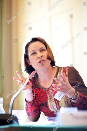 CER event at Ditchley Park, Oxfordshire, Britain - Stephanie Flanders, BBC economics correspondent
