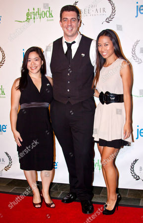 Stock Image of Teresa Huang, Christoper Tillman, DJ SHY
