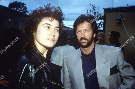 ERIC CLAPTON AND LORY DEL SANTO