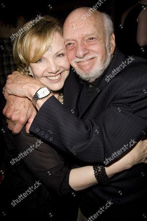 Stock Photo of Susan Stroman (Director/Choreographer) and Harold Prince (Director)