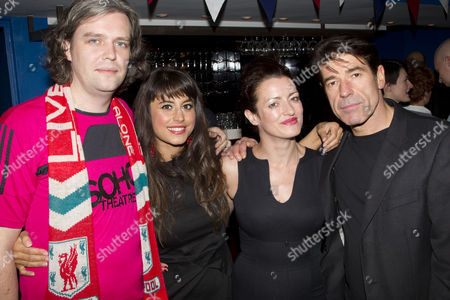 Steve Marmion (Director), Zahra Ahmadi (Lianne/Fatima), Katy Stephens (Casey Layton) and Steven Hartley (Anthony Whitechapel)