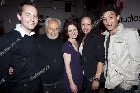 Hugh de la Bedoyere (Producer), Nadim Sawalha (Oupa Yonkers), Cordelia Monsey (Director), Cat Simmons (Veronica Yonkers) and David Judge (Alfred Witbooie)